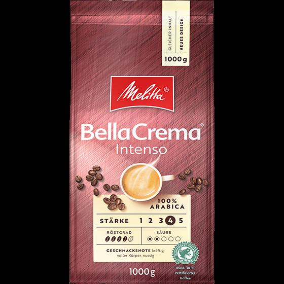 Melitta® BellaCrema® Intenso, Kaffeebohnen, 1000g