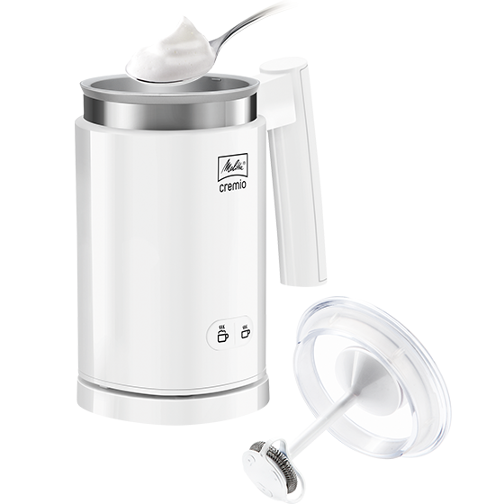 Cremio® Milchaufschäumer, weiß