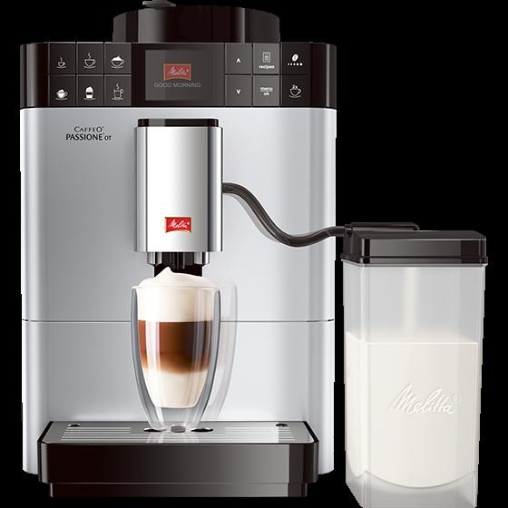 Caffeo® Passione® OT Kaffeevollautomat, sliber